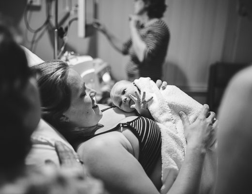 Newcastle Birth Photography | Photo of birth